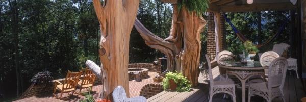 Large log posts