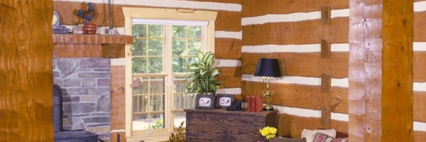 asheville log cabin builder