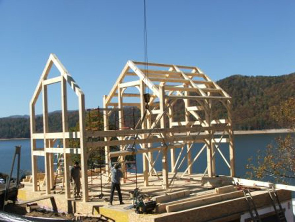 greensboro timber frame construction