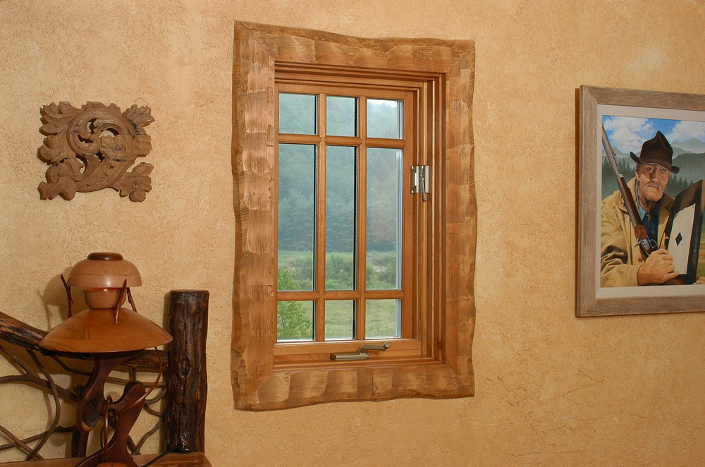 log home kit window designdetail