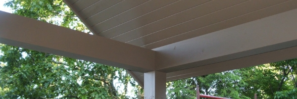 Covered Deck Addition near Blowing Rock, NC