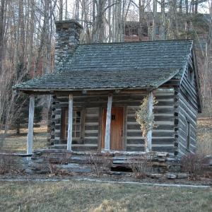 Rebuilt Antique log cabin in NC