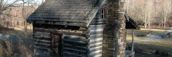 Rebuilt Antique Log Cabin in NC
