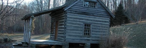 Rebuilt Antique Log Cabin