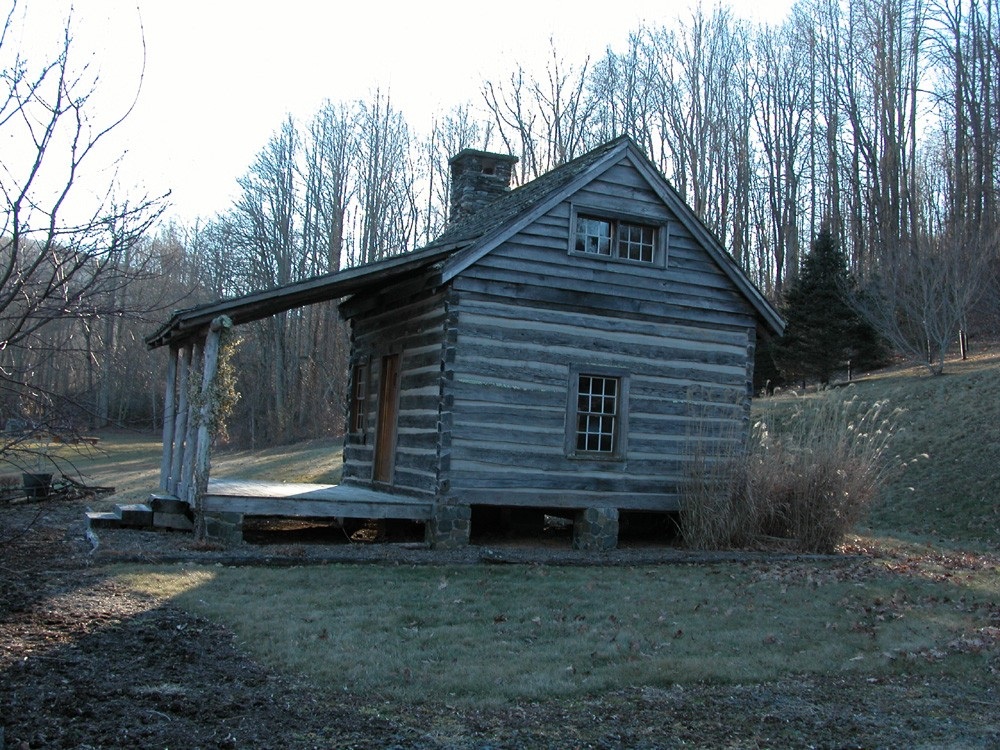 Rebuilt Antique Log Cabin