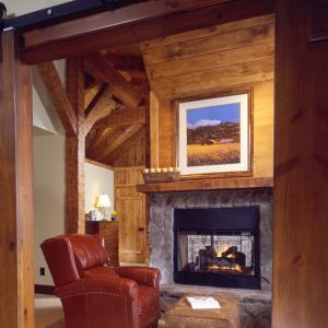 Timber Frame Log Hybrid Lodge Estate Home Bethel, NC