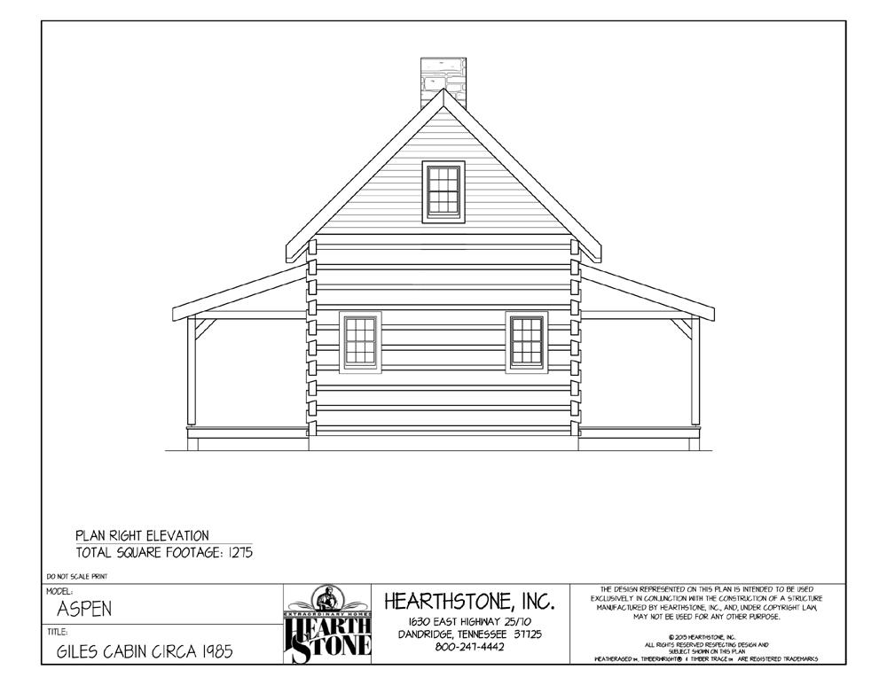 cozy cabin floor plan, bob timberlake collection, live edge wood